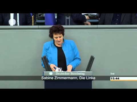 Sabine Zimmermann, DIE LINKE: Bund muss gegen Tarifflucht bei der Post Stellung beziehen