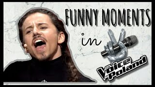 Michał Szpak- Funny moments in The Voice of Poland #4