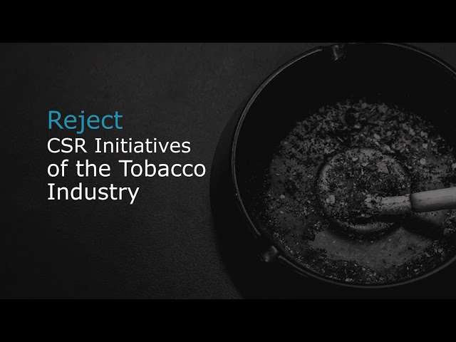 How the Tobacco Industry Used the Covid-19 Pandemic to Market Its Products