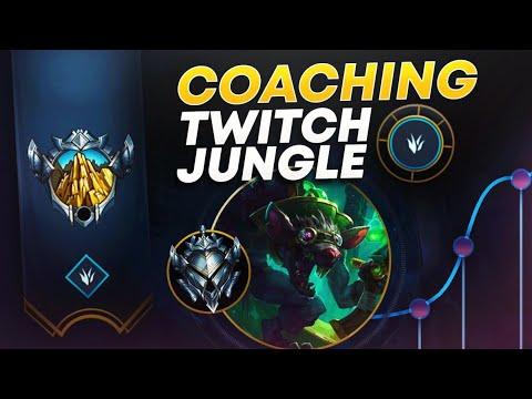 COACHING TWITCH JUNGLE SEASON 10 (VOD REVIEW) | League Of Legends