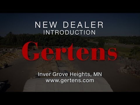 NEW DEALER: Gertens, Inver Grove Heights, MN | Pave Tech - Hardscape Outfitters