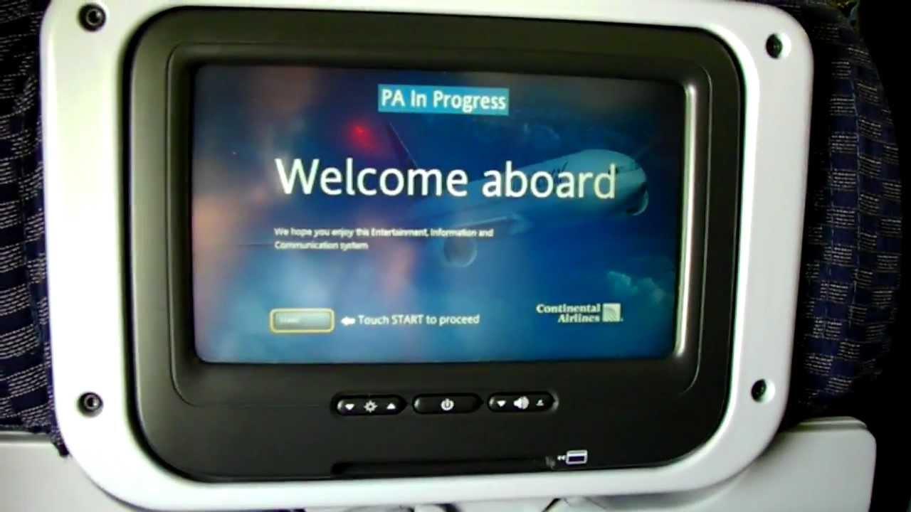 Boeing 757 Interior