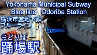 踊場駅に潜ってみた 横浜市営地下鉄ブルーライン Odoriba station