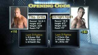 MMA Oddsbreaker UFC 139, UFC 140, Strikeforce Heavyweight GP Final