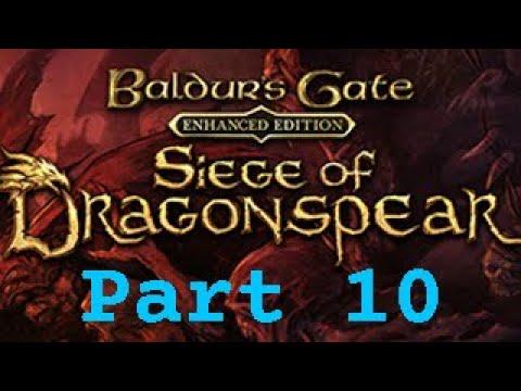 The Death(s) of Damian d'Manir | Baldur's Gate: Enhanced Edition - Siege of Dragonspear | Episode 10 |