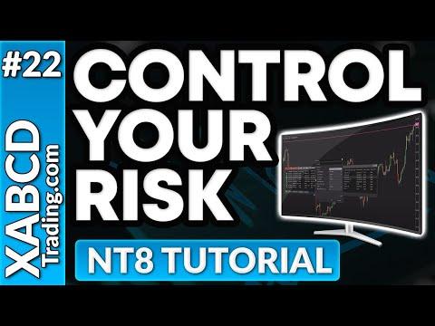Testing on NinjaTrader 8 with Risk Templates