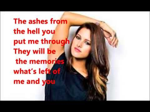 Cassadee Pope- Told You So (with Lyrics)