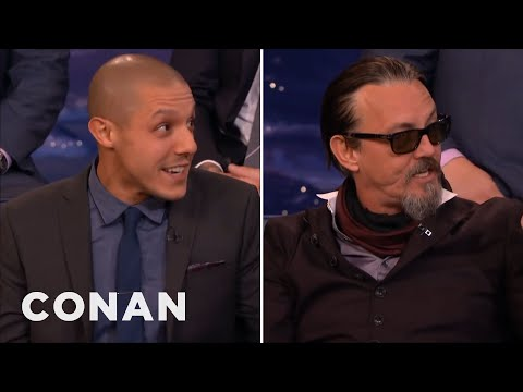 Theo Rossi & Tommy Flanagan's Sexual Super   CONAN on TBS