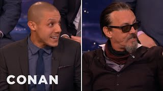 Theo Rossi & Tommy Flanagan