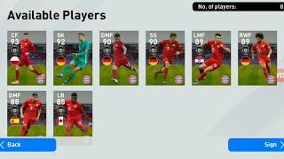 Bayern Munchen Club Selection PES 2020 Mobile Got Neuer