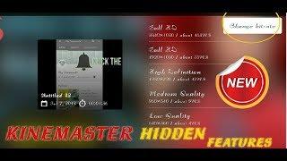 Kinemaster Hidden Features Must Watch 😱