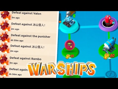 The dark side of Warships in Boom Beach…
