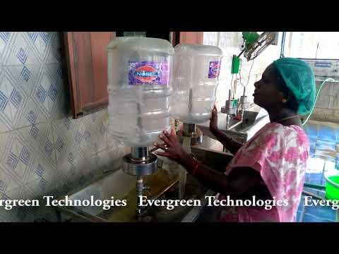 Jar Cleaning Machine - Evergreen Technologies