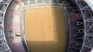 Открытие Арена - установка сетки (ЗУС)(, 2014-04-23T10:07:00.000Z)