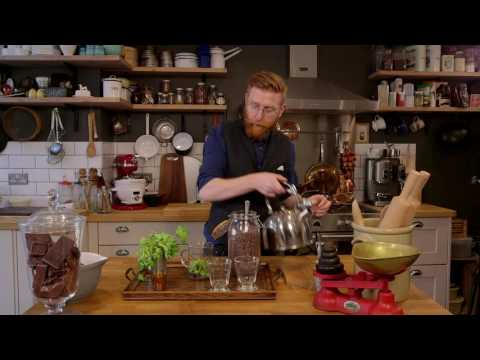 Refreshing Cocoa Nib and Mint Tea with Paul A. Young