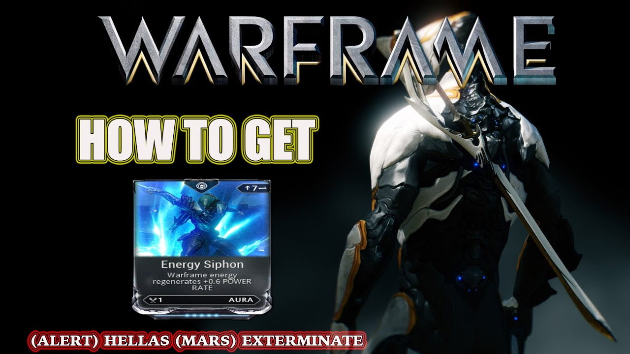 warframe how to get energy