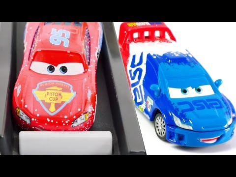 MCQueen Disney Cars Spiderman Fun Learning Colors For Kids