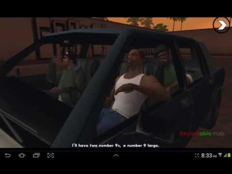 GTA San Andreas Android Walkthrough Part 5 Drive Thru