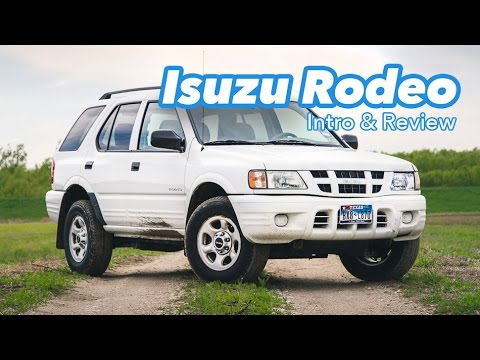 2003 Isuzu Rodeo Review & Intro: Meet The New ineptechs Project Truck