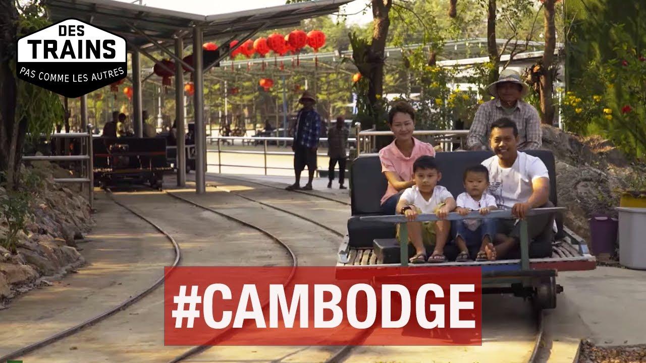 Des trains pas comme les autres - Cambodge - Documentaire voyage