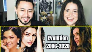 DEEPIKA PADUKONE EVOLUTION (2006 - 2020) | Star Mix | Reaction | Jaby Koay & Achara