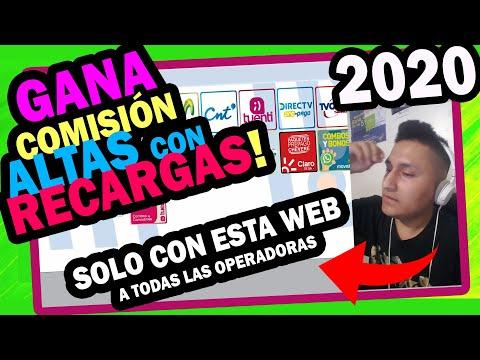 😋 +200 DOLARES Por Hacer RECARGAS Por INTERNET 😍 Todas Las Operadoras Claro Movistar CNT DirecTV
