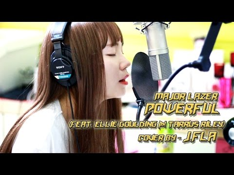 Major Lazer - Powerful feat  Ellie Goulding & Tarrus Riley cover by J.Fla