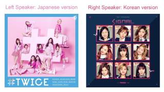 "Twice - ""signal"" japanese/korean comparison (full ver.)"