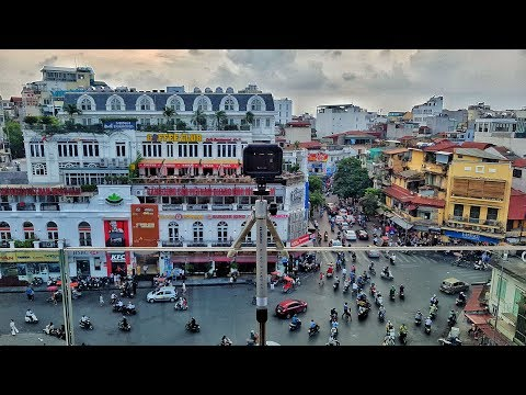 Hanoi in Motion [Time lapse of the Old Quarter traffic caught with the GoPro Hero 5 in 4K]