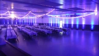 Duluth Event Lighting, Up lighting at the Superior Curling Club