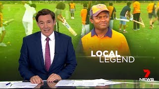 Can Migrant Cricketers become Aussies, Creepy Reporter Thinks Yes. Seven News