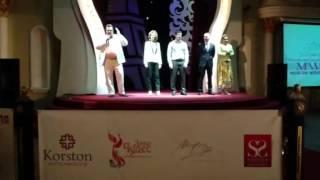 Открытие выставки Moscow Wedding Fair в отеле Корстон