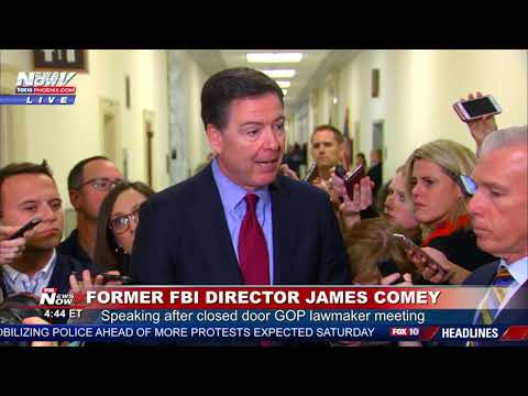 BREAKING: James Comey Says Mueller Investigation Is Going Extremely Well