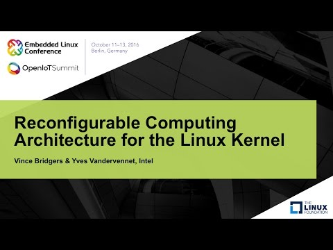 Reconfigurable Computing Architecture for the Linux Kernel