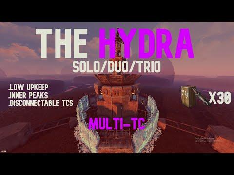 Rust - The HYDRA   Solo/Duo/Trio - (Rust Base Design 2021)