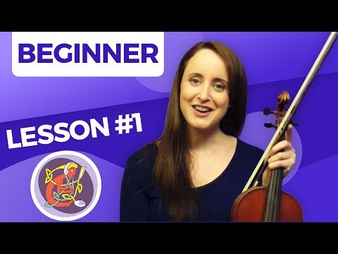 Irish Fiddle Lesson 1 - [The Basics] Start Here