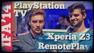 Первый обзор PlayStation TV и RemotePlay на Xperia Z3
