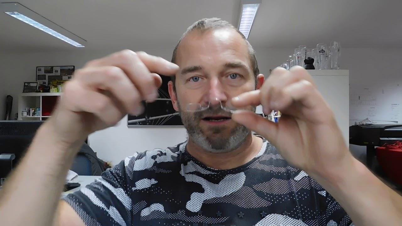 Glens Brille in scheckkartengöße Lesebrille zum mitnehmen - YouTube
