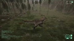 How to kill a T-Rex as Giga 1v1 - THE ISLE - Gameplay