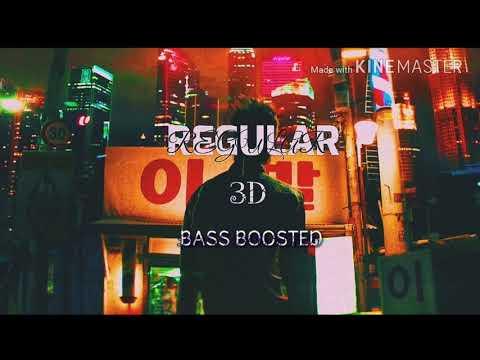 NCT 127 'REGULAR' BASS BOOSTED 3D