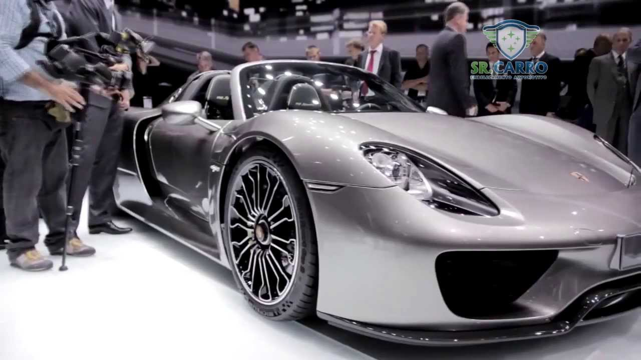 Sr Carro 2014 Porsche 918 Spyder Youtube