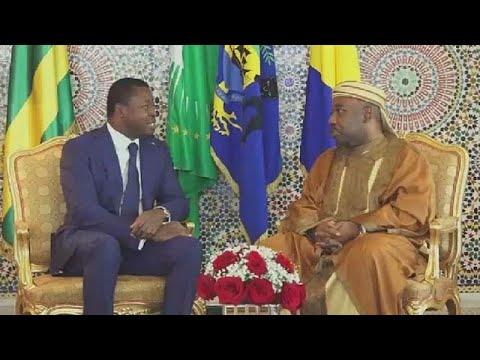 Gabon: le président Ali Bongo reçoit Faure Gnassingbé à Libreville