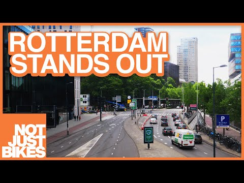 Rotterdam: the City Rebuilt for Cars