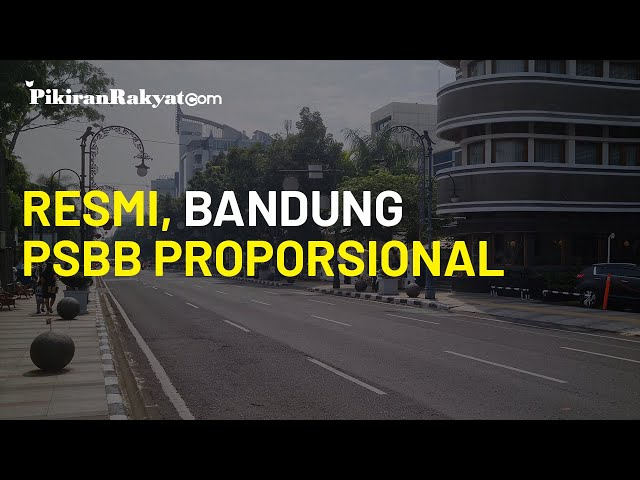 Resmi, Kota Bandung Kembali Terapkan PSBB Proporsional