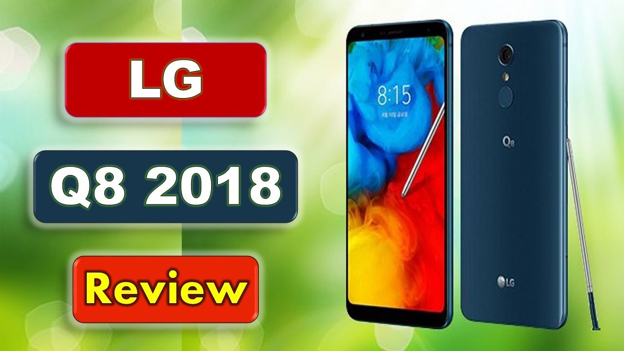 LG Q8 2018 Wallpapers: Use It As Notebook Or Smartphone