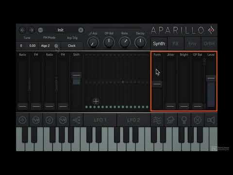 Sugar Bytes 101: Aparillo Sound Design - 2. Synth Overview