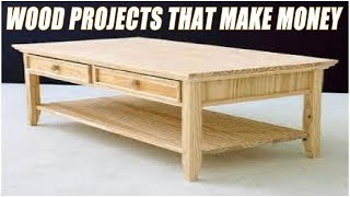 It is no doubt that woodworking is very profitable and when done right you can make a lots of money from your project. Here are