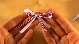 Geschenkschleife basteln - Schleife binden & Geschenke einpacken - Weihnachtsgeschenke