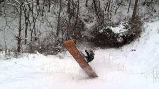 Toboggan - 2014 Winter Sled Toboggan & Dachshund Puppy Dog Snow Plow
