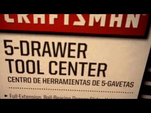 Craftsman 5-Drawer Tool Center REVIEW